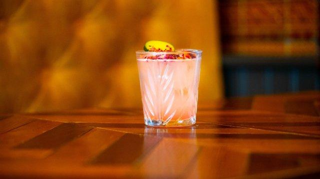 Vegan cocktail at The Empress of Broughton Street, Edinburgh