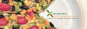Vegan Envy Logo with Pizza
