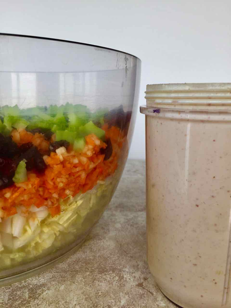 healthy vegan coleslaw dressing low-fat
