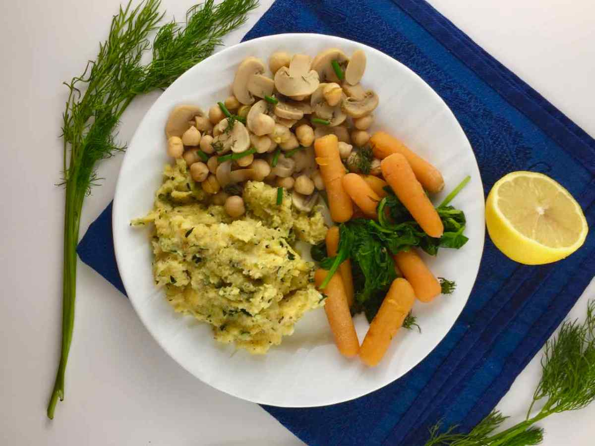 Italian Cornmeal Zucchini Polenta - 20 minutes