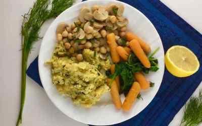 Italian Cornmeal Zucchini Polenta – 20 minutes