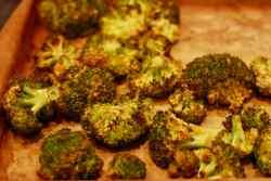Roasted Tahini Broccoli Whole Foods Plant Based