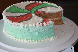 Aqua faba vanilla cake whole wheat no eggs
