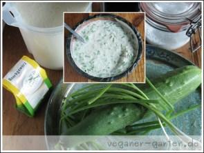 Gurkenjoghurt vegan