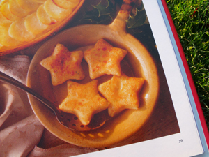 potato stars from Vegetarian Christmas