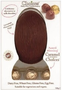 choices caramel egg