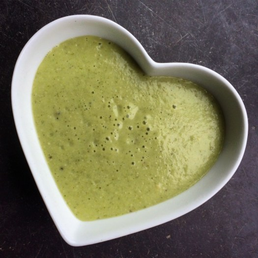 Cream of Broccoli and Nettle Soup - vegan