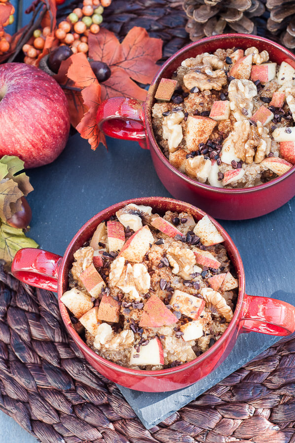 Apple Cinnamon Quinoa Breakfast Recipe - Vegan Family Recipes