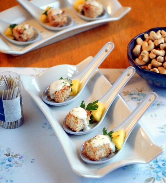 Coconut Crusted Tofu Bites Recipe - Vegan Finger Food Recipes