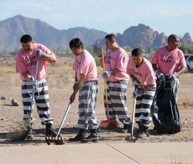 Pink Uniforms Jail
