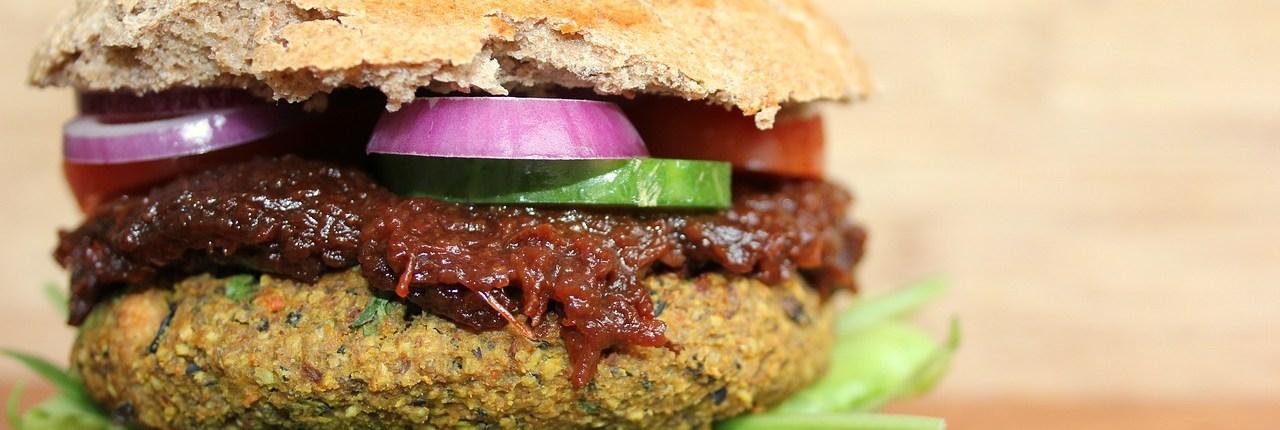 Vegan Fast Food Amsterdam Burger