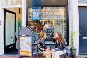 Healthy Food Wall - Amsterdam