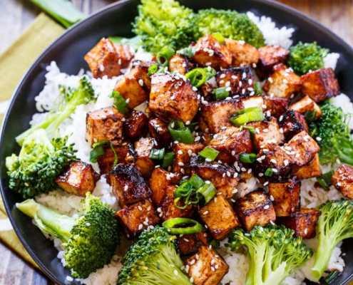 Vegan Asian Food