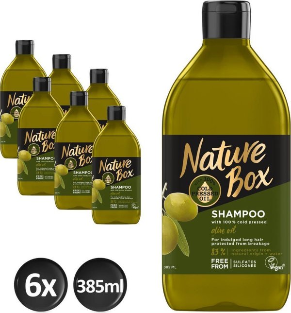Nature Box Olive Shampoo 6x