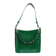 Hvisk Amble Croco Small Pine Green