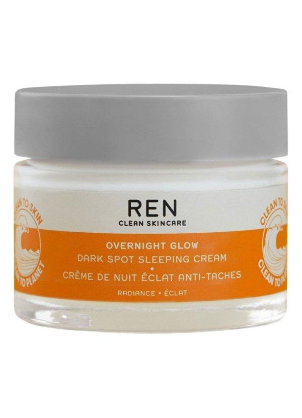 REN Radiance Overnight Glow Dark Spot Sleeping Cream - nachtcrème