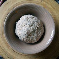 pitta bread dough