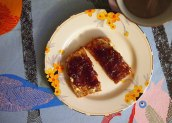 seville orange marmalade on toast