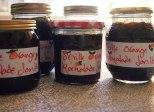 jars of homemade seville orange marmalade.....