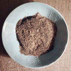 grind seeds to a fine powder