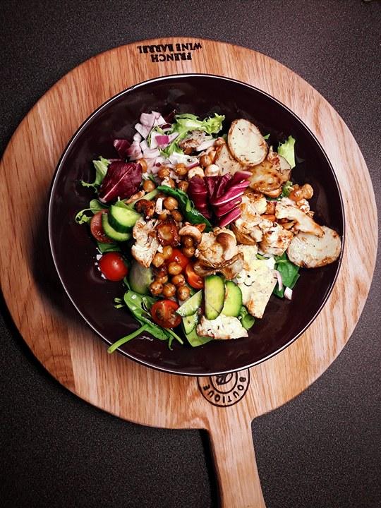 vegansk sallad