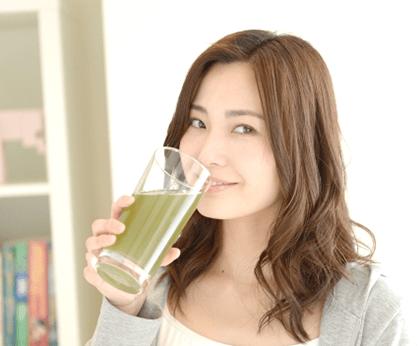 めっちゃ贅沢フルーツ青汁 飲み方