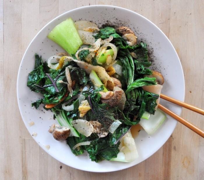 Kimchi-Stir-Fry-Vegan