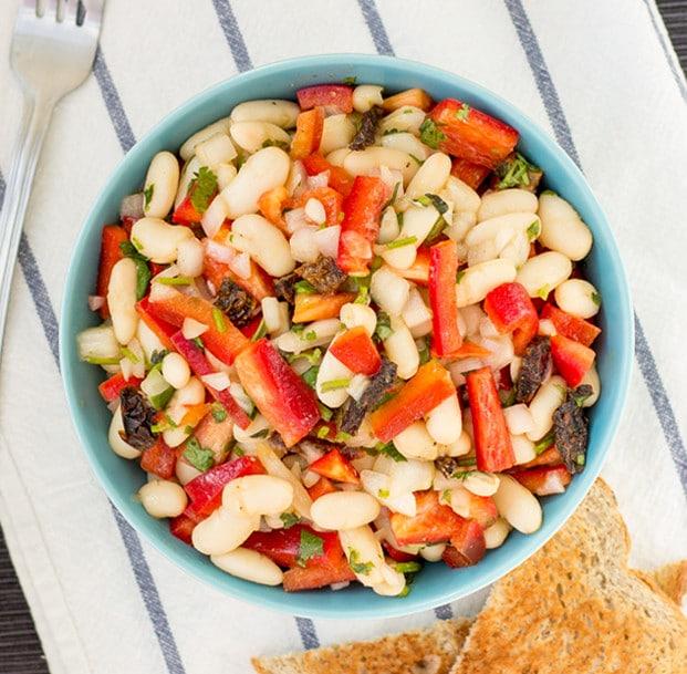 high-protein-white-bean-salad