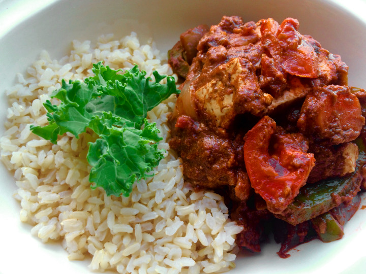 vegan paneer tikka masala recipe (2)