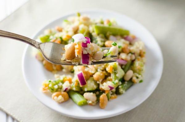 low fat quinoa-salad
