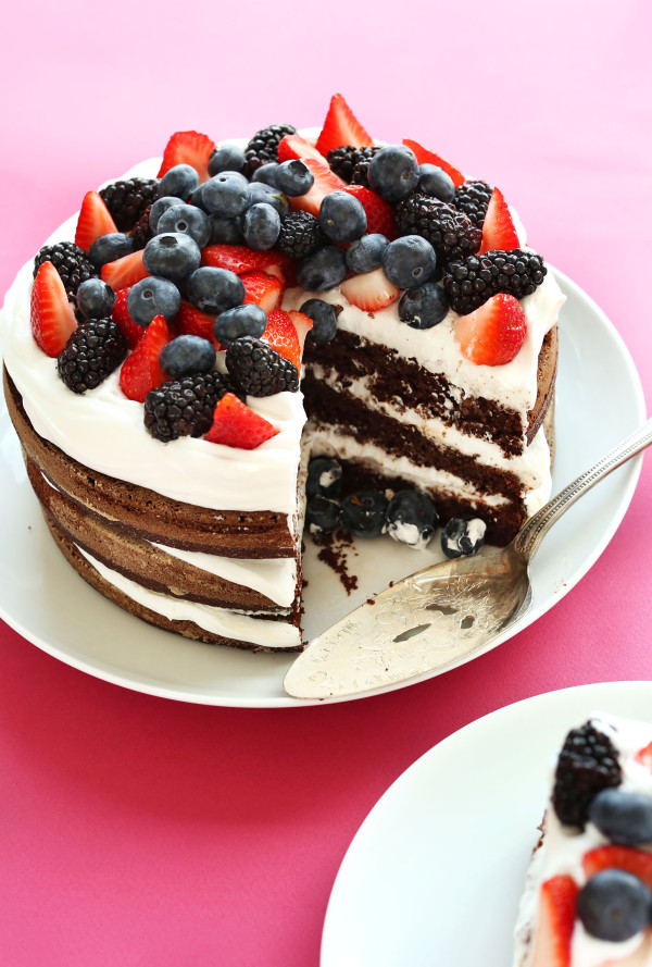 One-Bowl Gluten Free Birthday Cake