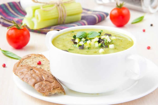 RAW Mediterranean Soup