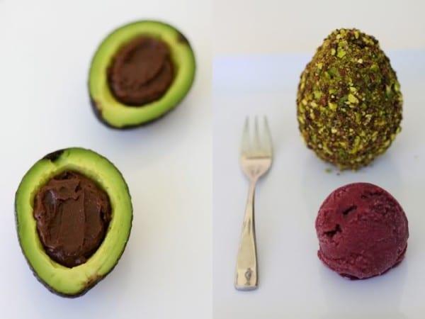 sweet avocado truffle