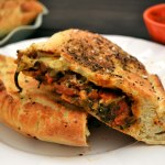 Spinach & Tomato Calzones