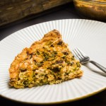 "Broccoli, ""Bacon & Cheddar"" Quiche"