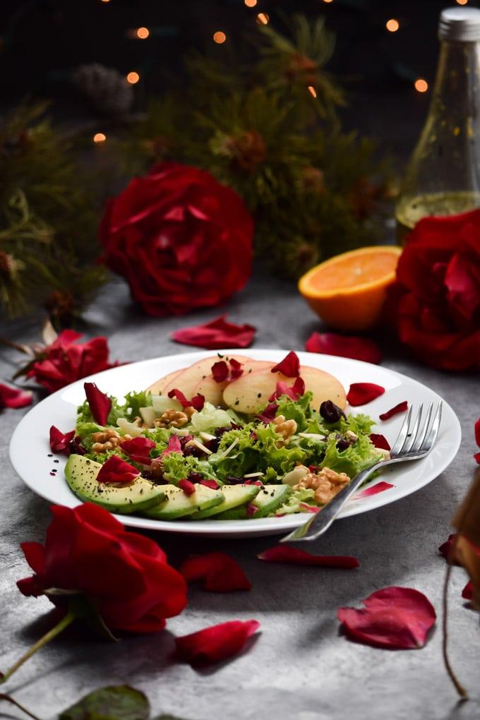 Zuzus Petals Winter Salad with Orange Vinaigrette