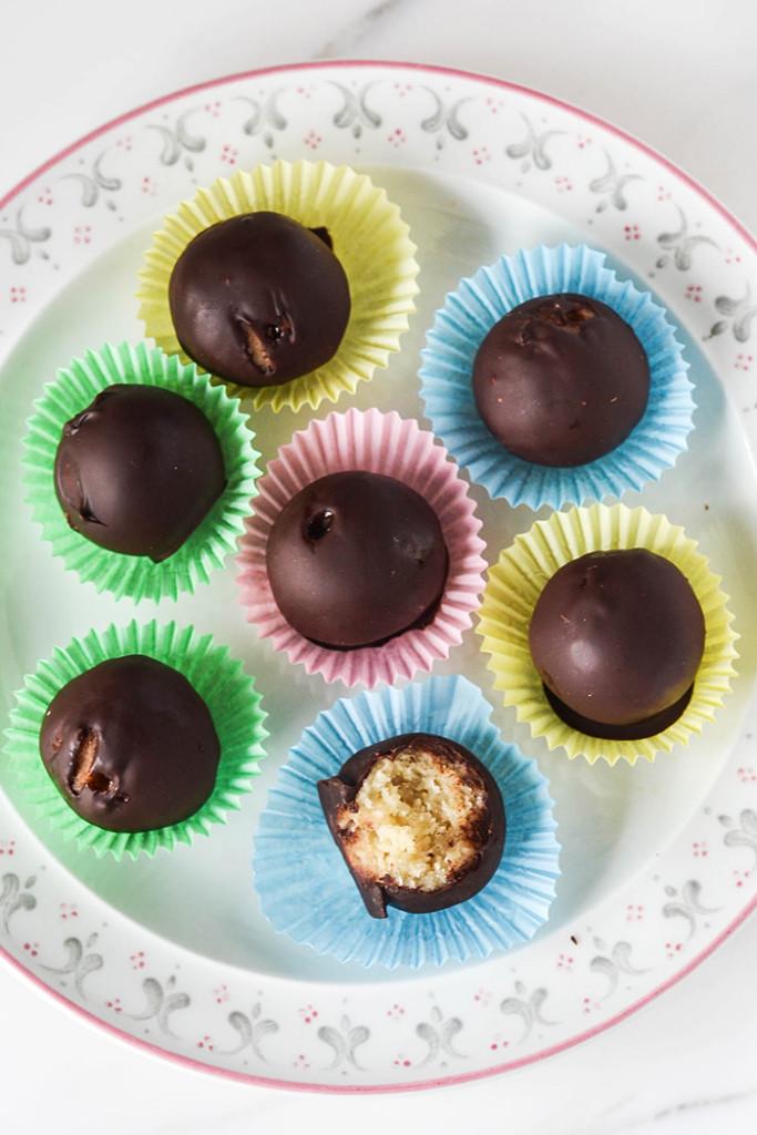 Raw Marzipan Chocolates