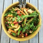 Marinated Tofu Pasta Salad