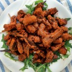 Spicy Buffalo Fried Okra