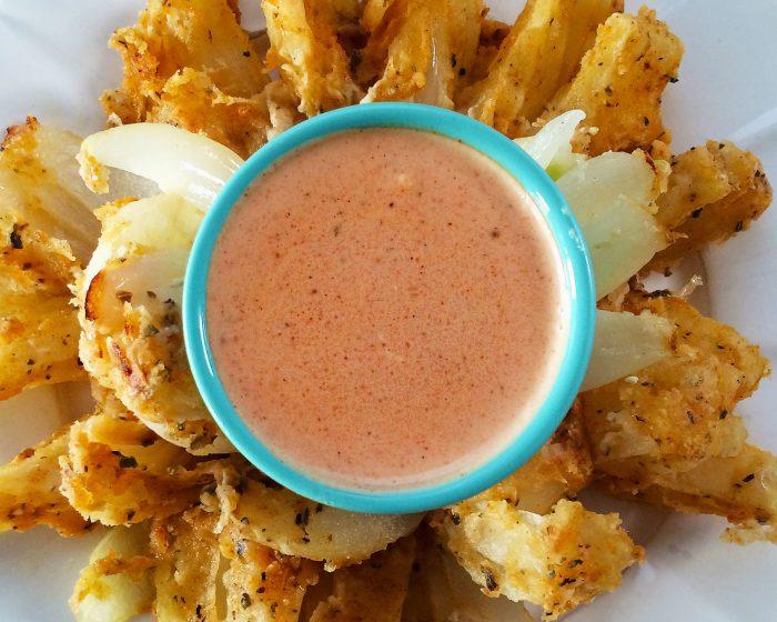 vegan bloomin onion sauce