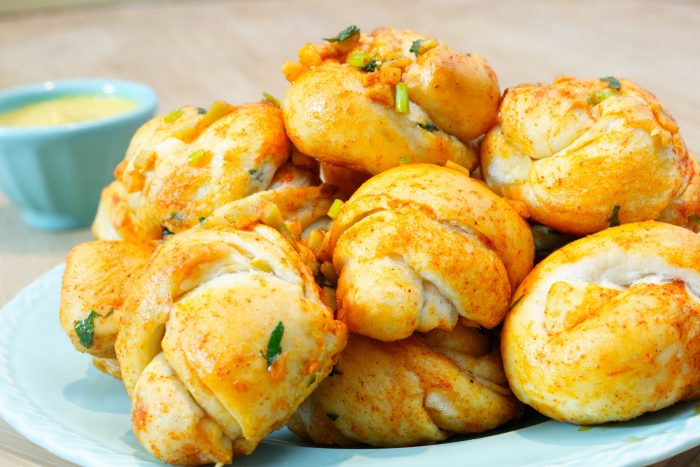 vegan garlic knots recipe