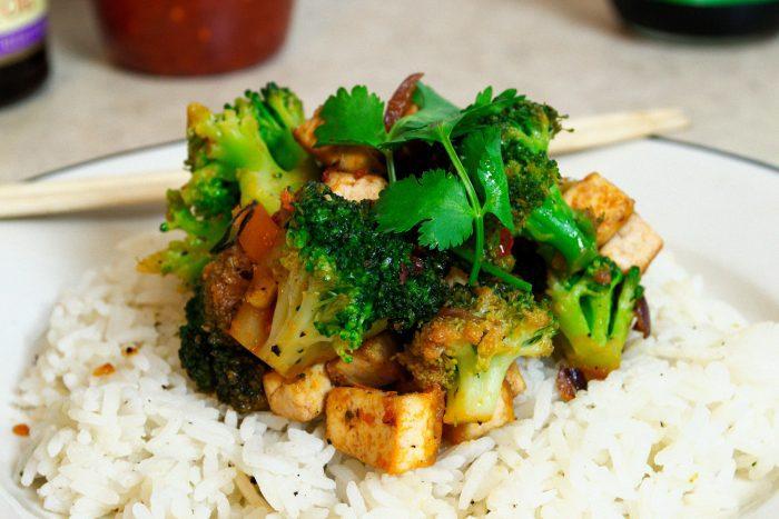 fast easy broccoli stir fry vegan