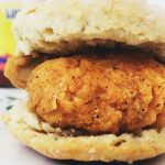 "Southern Style ""Chicken"" Biscuit Sliders"