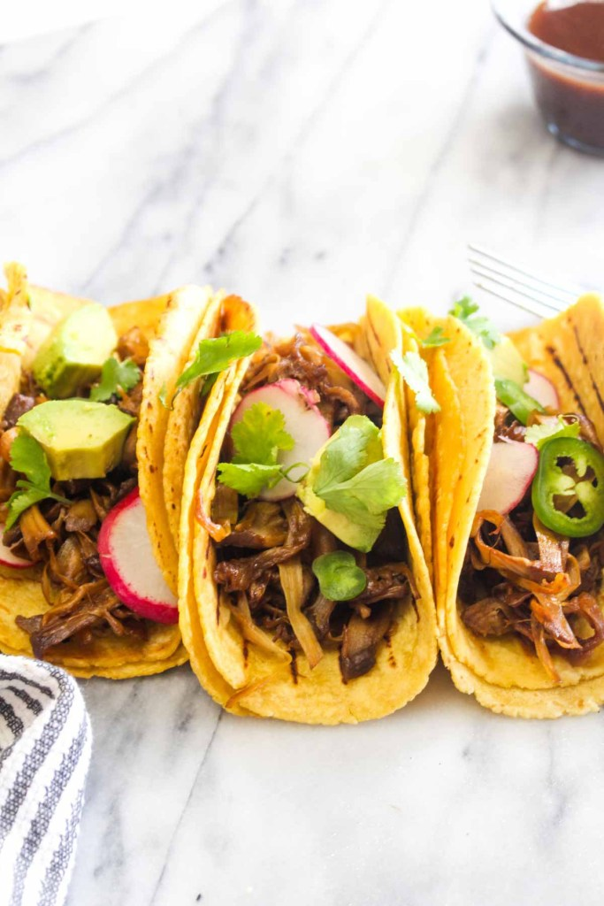 KOREAN BARBECUE JACKFRUIT TACOS