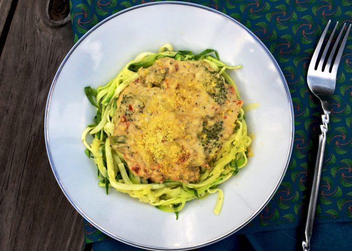 Sun Dried Zoodles
