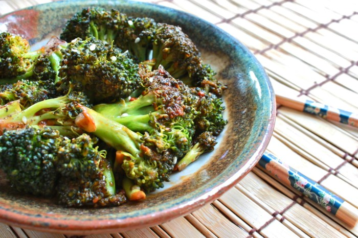 Korean-Style Broccoli With Gochujang