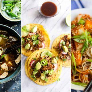 vegan korean recipes