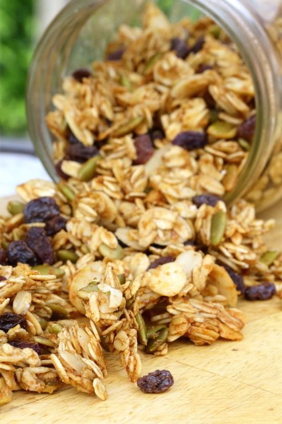 Almond & Pumpkin Seed Granola