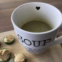 Spitskool Soep met Spruiten en Broccoli = Spruicoli Soep :-)