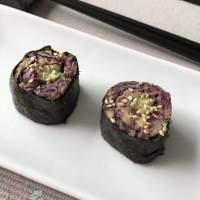 Sushi met Kool en Kikkererwten